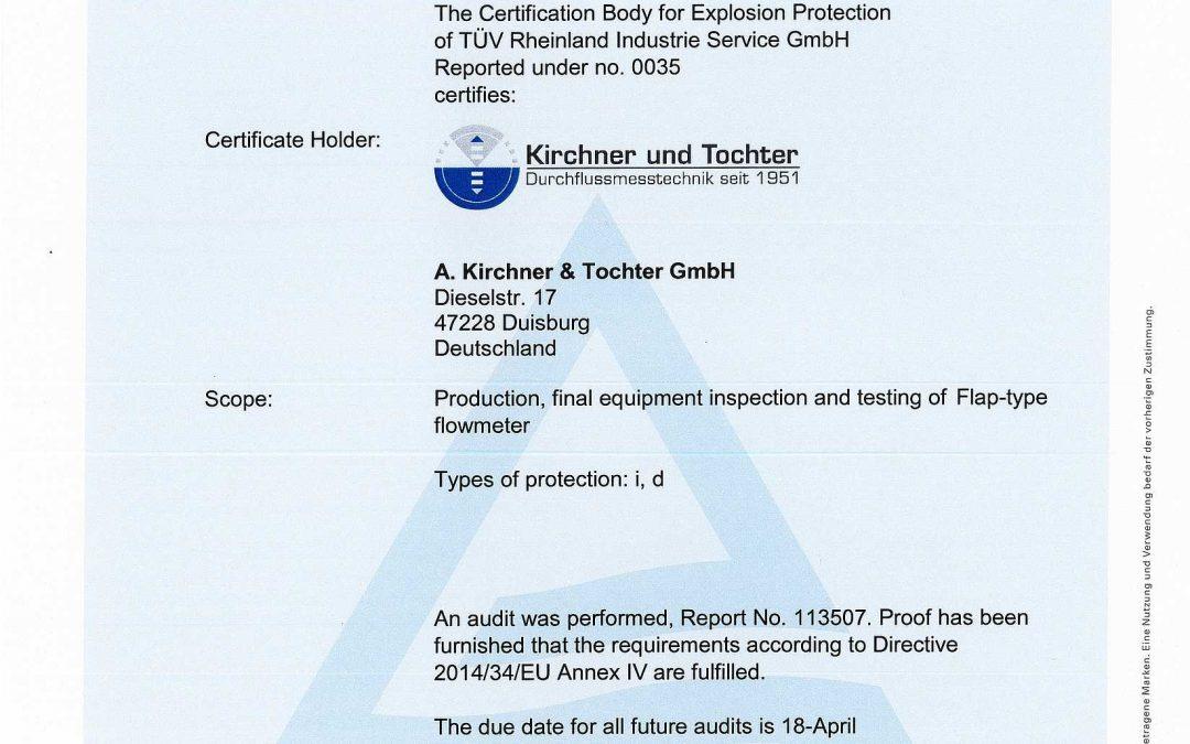 Successful recertification audit