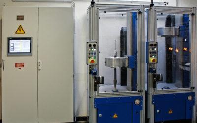 New glass forming machine